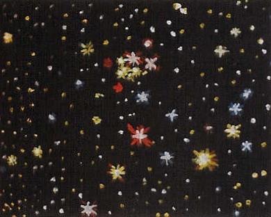 Star Painting #4 acrylic on canvas