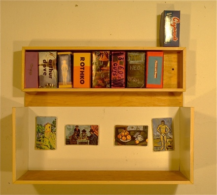 Son of Boxed Sets 1992 mixed media 18x24x11in